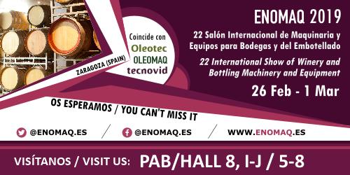 Gruppo Bertolaso a ENOMAQ 2019 – Zaragoza