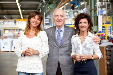 Luigino Bertolaso con le figlie